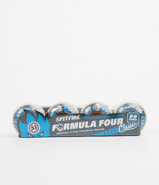 Spitfire Formula Four Classic 99DU Wheels - 53mm - Natural