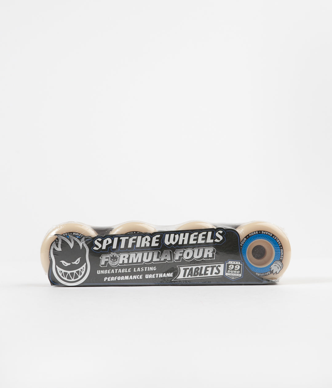 Spitfire Formula Four Tablet 99DU Wheels - Natural - 52mm