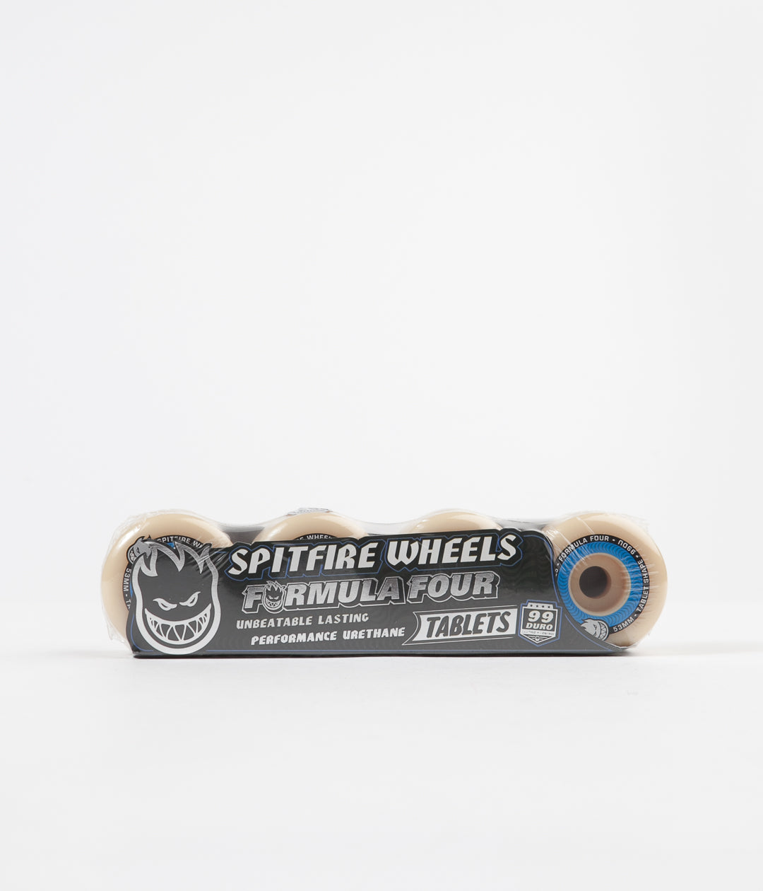 Spitfire Formula Four Tablet 99DU Wheels - Natural - 53mm