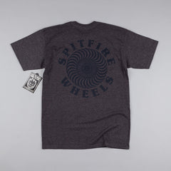 Spitfire OG Classic T-Shirt - Charcoal Heather