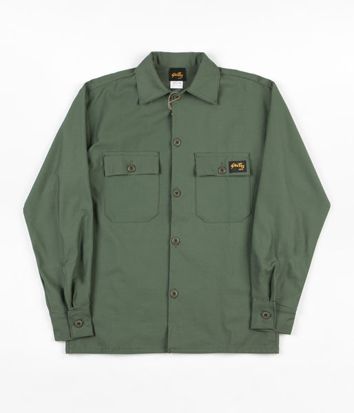 Stan Ray 2 Pocket Jacket - Olive Sateen