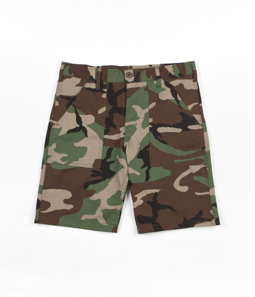 Stan Ray 4 Pocket Shorts - Woodland Ripstop