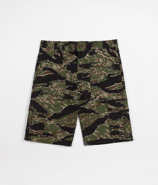 Stan Ray 6 Pocket Cargo Shorts - Tiger Stripe Ripstop