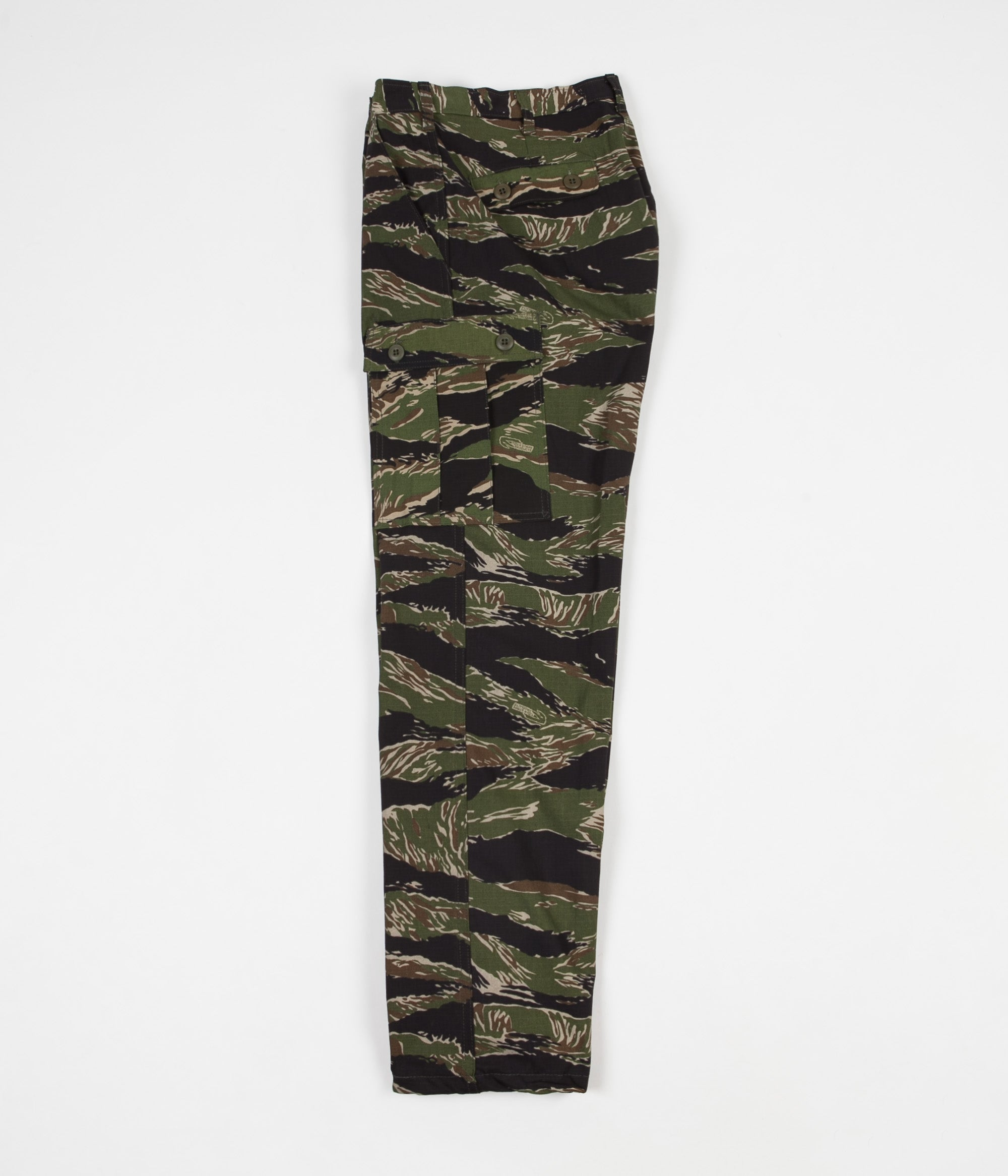 Stan Ray Cargo Trousers - Green Tigerstripe Ripstop