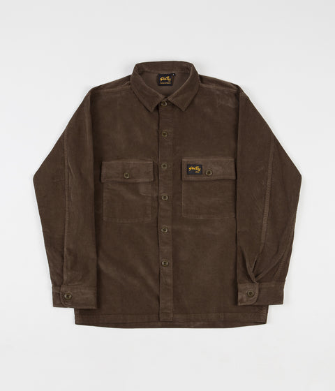 Stan Ray Cord CPO Shirt - Olive Cord