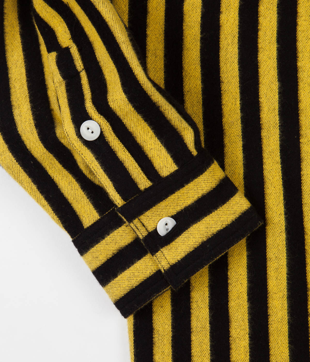Stan Ray Flannel Shirt - Old Yellow Stripe