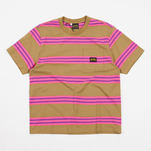 Washed Pink Stripe