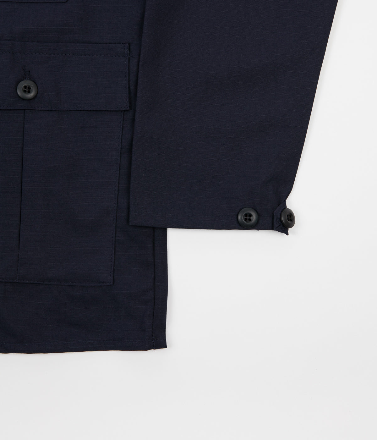 Stan Ray Four Pocket Military Jacket - Navy Ripstop