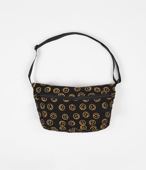 Stan Ray Jazzies Hip Bag - Smiley Batik Black