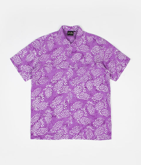 Stan Ray Kelapa Batik Shirt - Pina Batik Purple