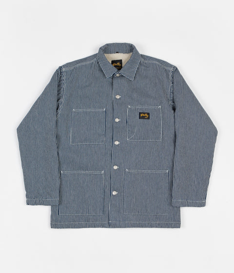 Stan Ray Lined Shop Jacket - Vintage Hickory
