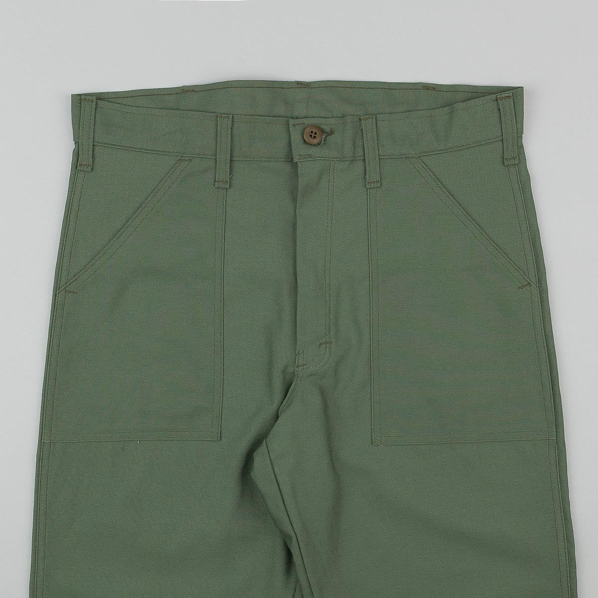 Stan Ray Original 107 4 Pocket Fatigue Trousers - Green