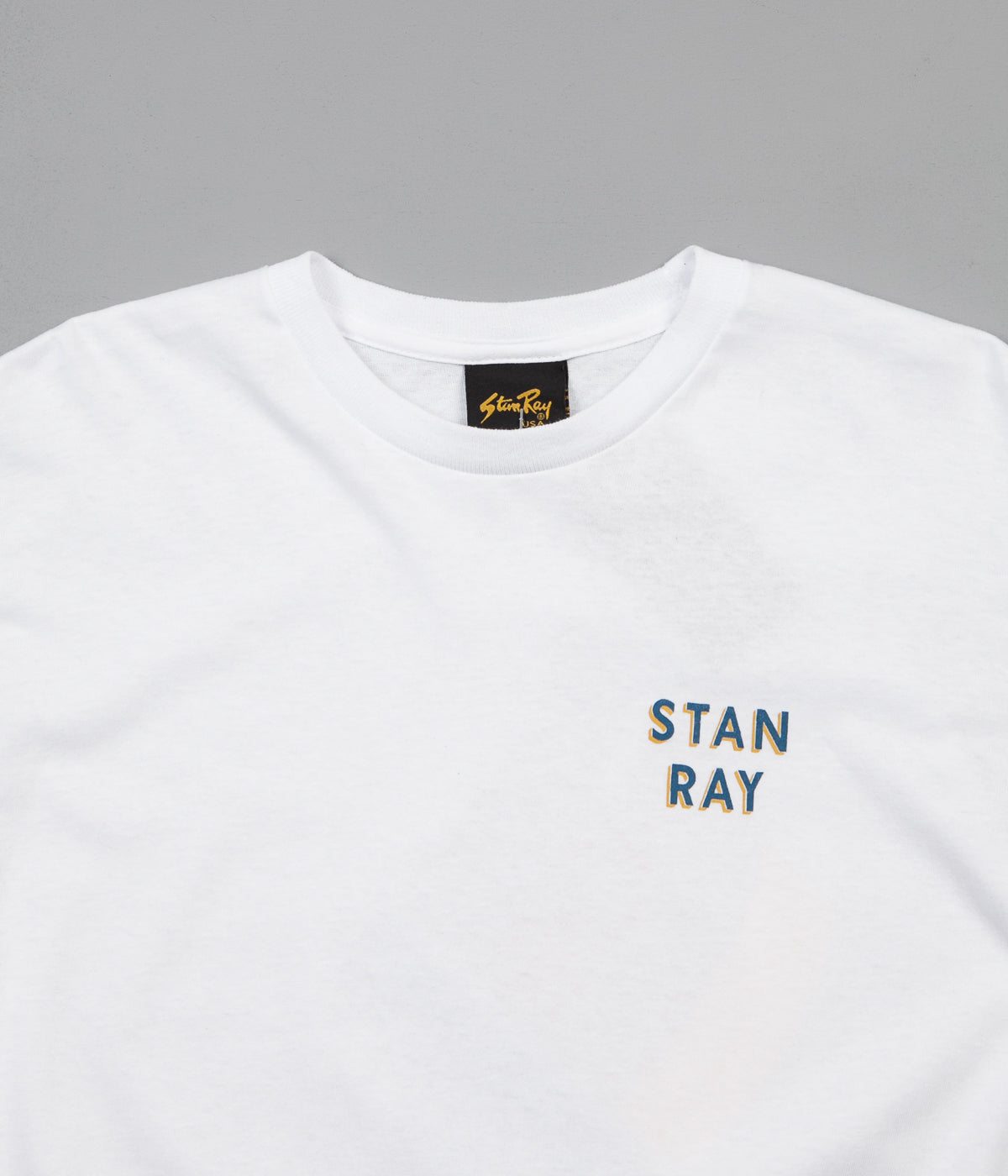 Stan Ray Paint Something Long Sleeve T-Shirt - White