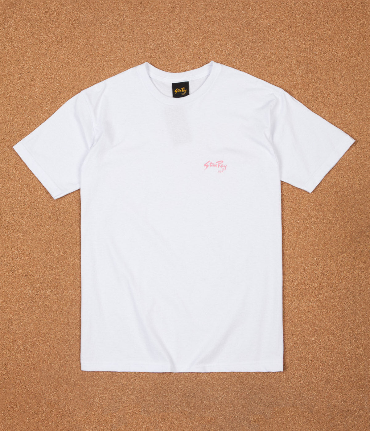 Stan Ray Painter T-Shirt - White / Pink