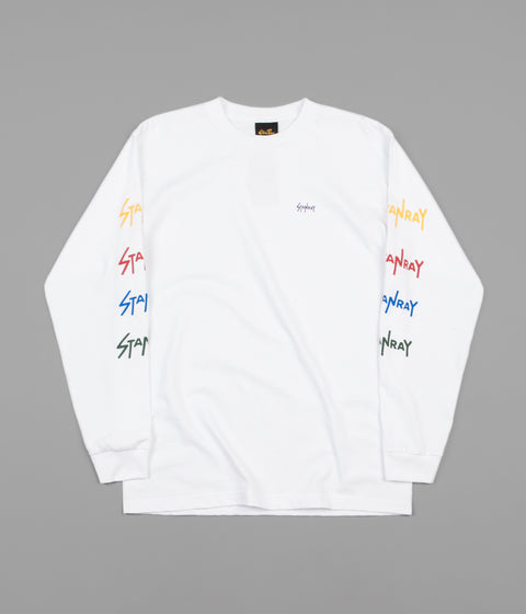 Stan Ray School Long Sleeve T-Shirt - White