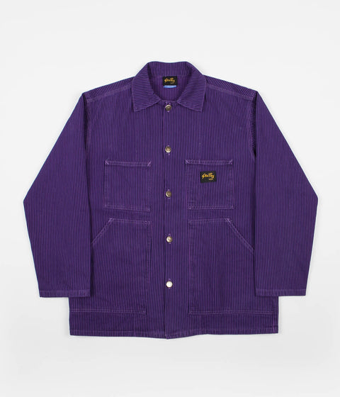 Stan Ray Shop Jacket - Decade Purple Hickory