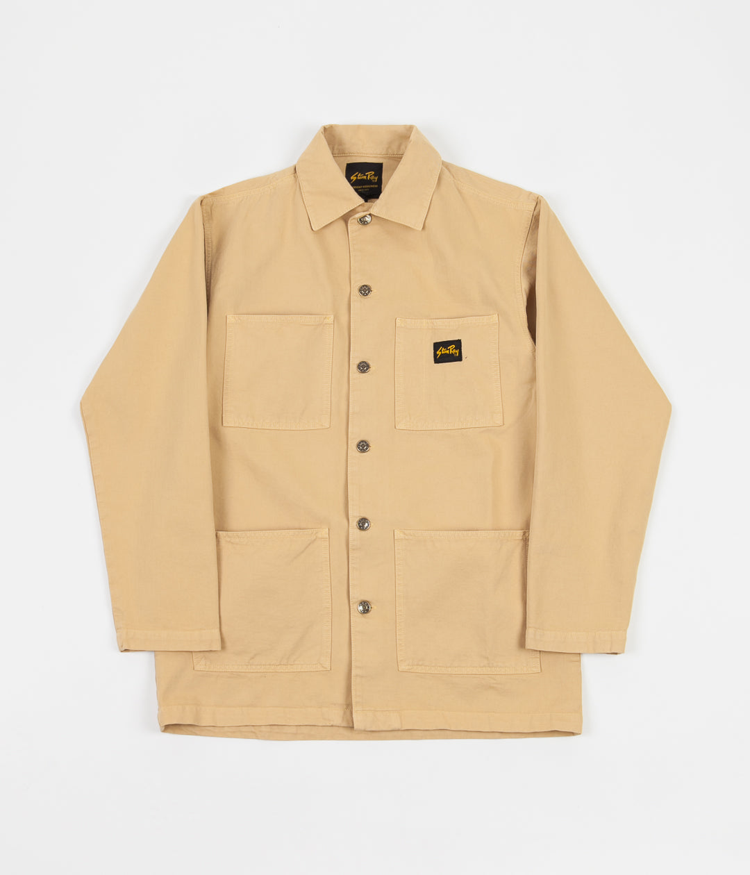 Stan Ray Shop Jacket - Sand Overdye Natural Drill