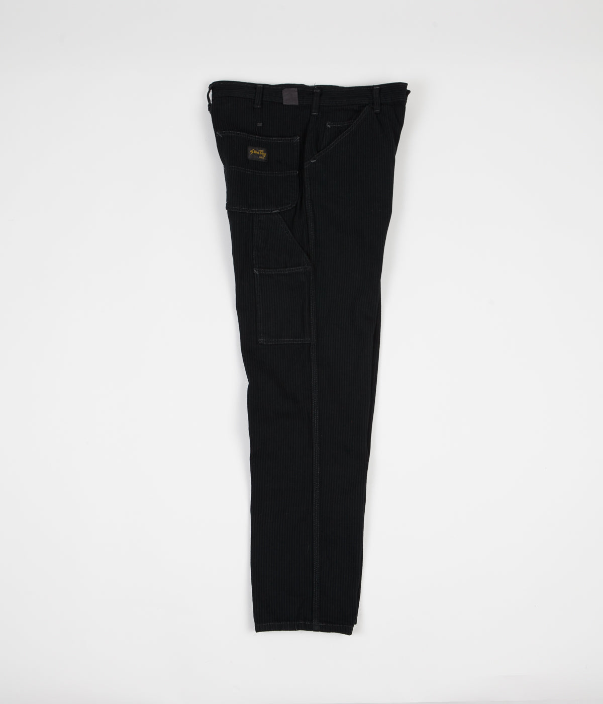 Stan Ray Single Knee Painter Pant Trousers - Black OD Hickory
