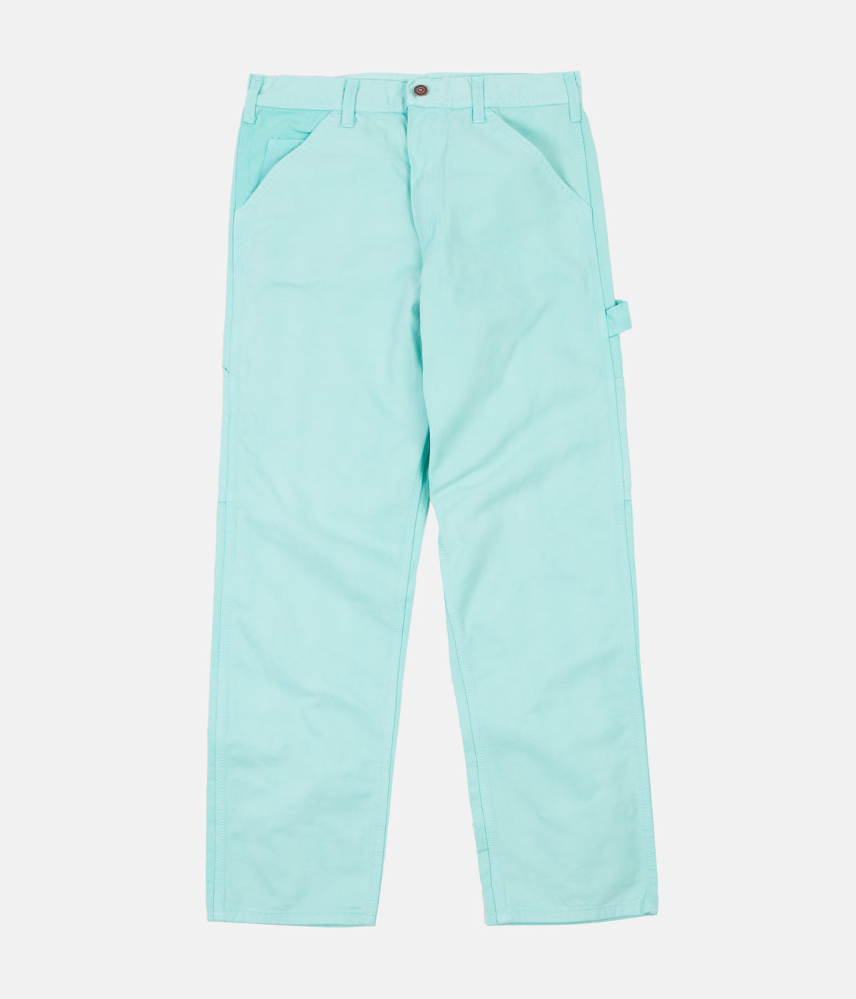 Stan Ray Single Knee Painter Pant Trousers - Turquoise Overdye