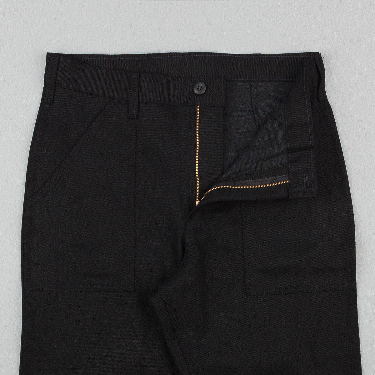 Stan Ray Taper Fit 4 Pocket Fatigue Trousers - Black