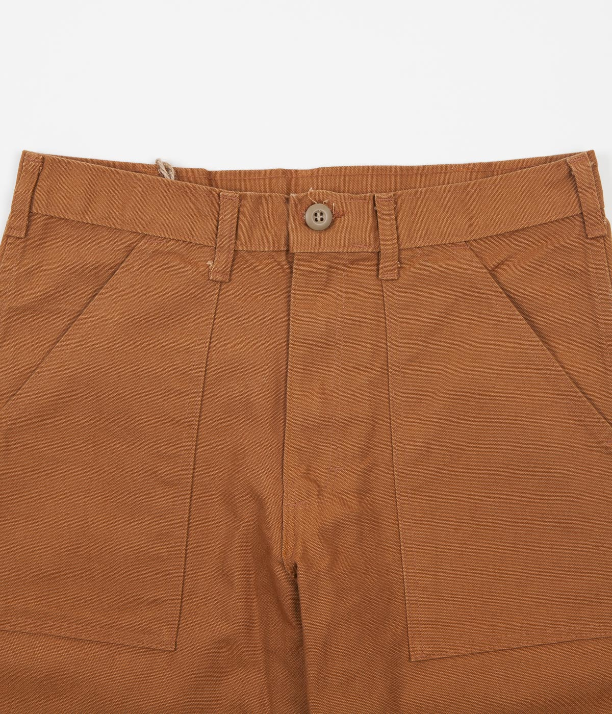 Stan Ray Slim Fit 4 Pocket Fatigue Trousers - Brown Duck