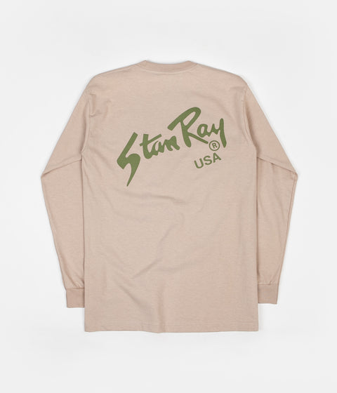 Stan Ray Stan Long Sleeve T-Shirt - Break Sand