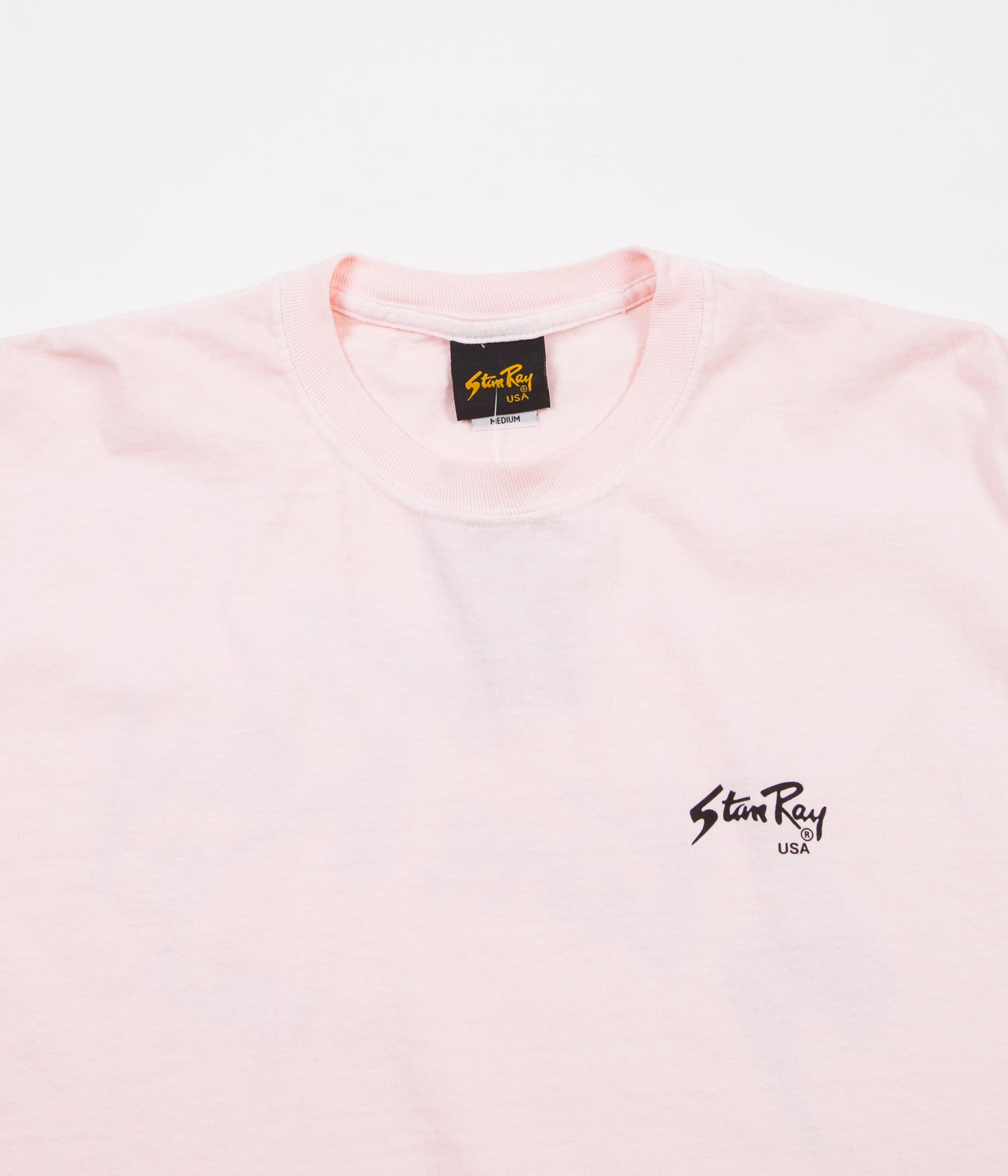 Stan Ray Stan Long Sleeve T-Shirt - Pink Rose