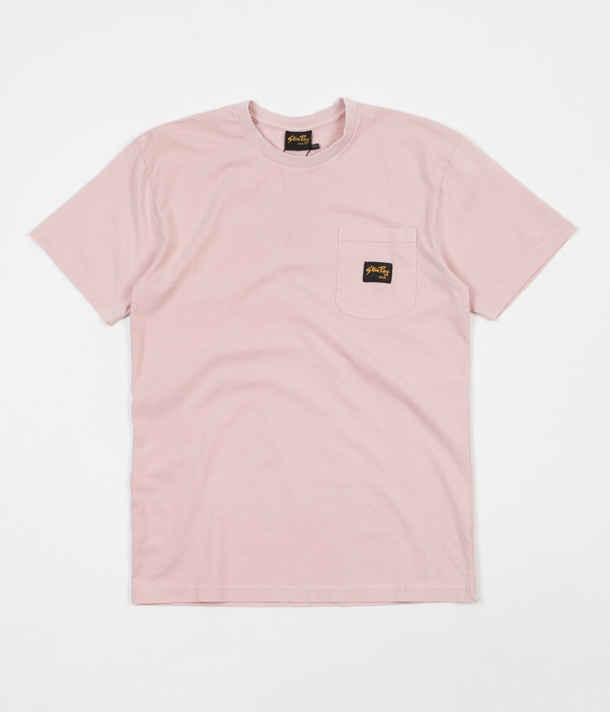 Stan Ray Stan Patch Pocket T-Shirt - Grey Daze