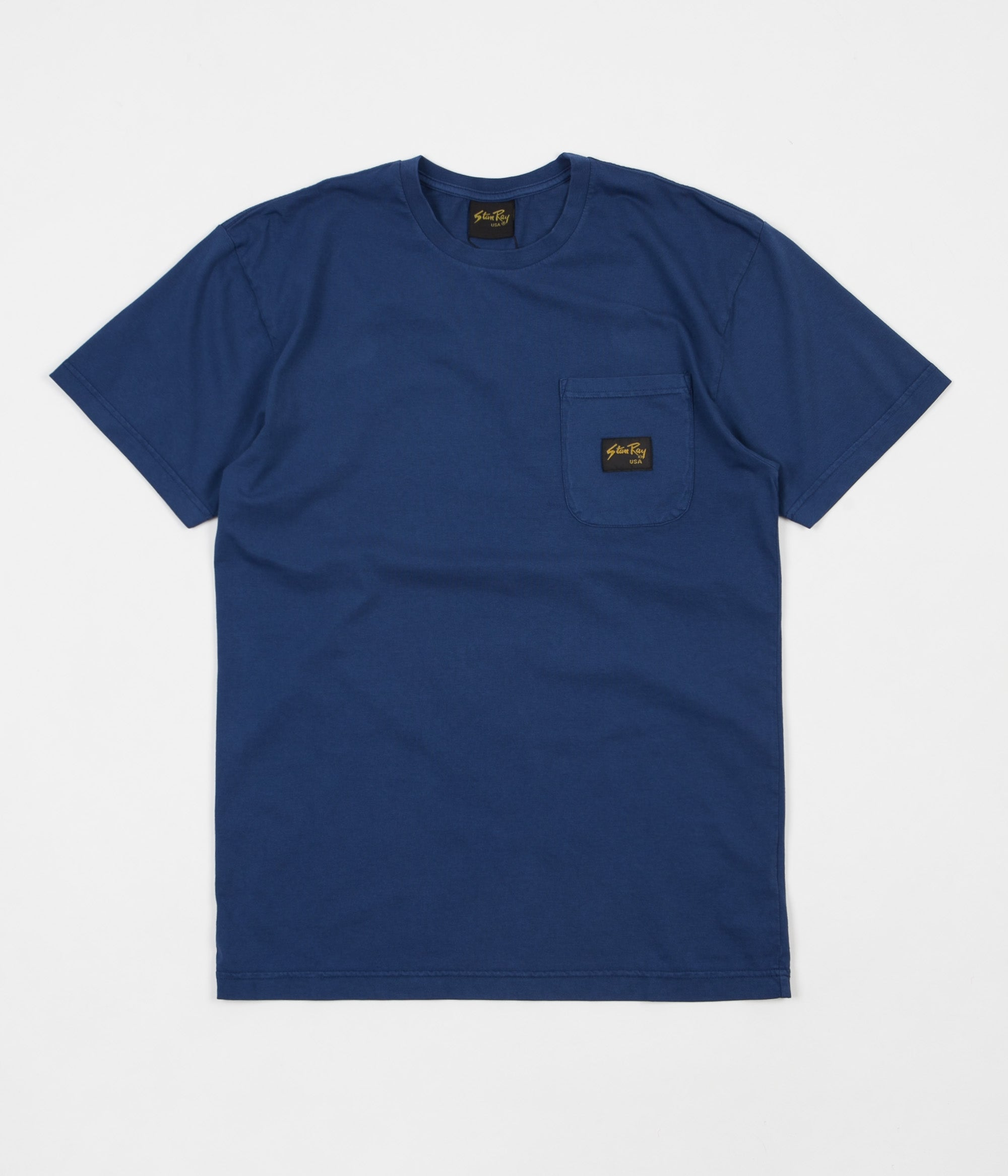 Stan Ray Stan Patch Pocket T-Shirt - Indigo  ee9961a05079