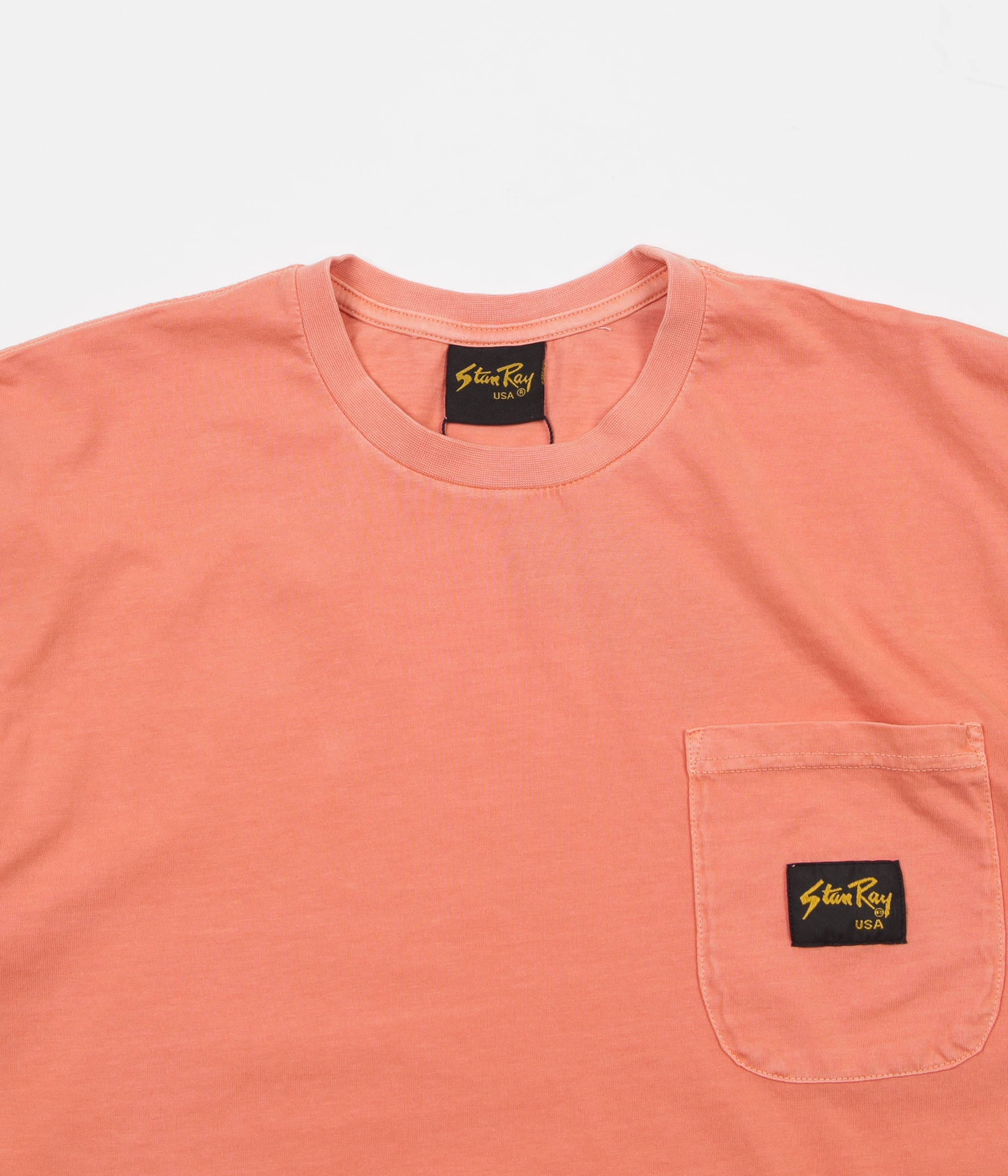 Stan Ray Stan Patch Pocket T-Shirt - Peach