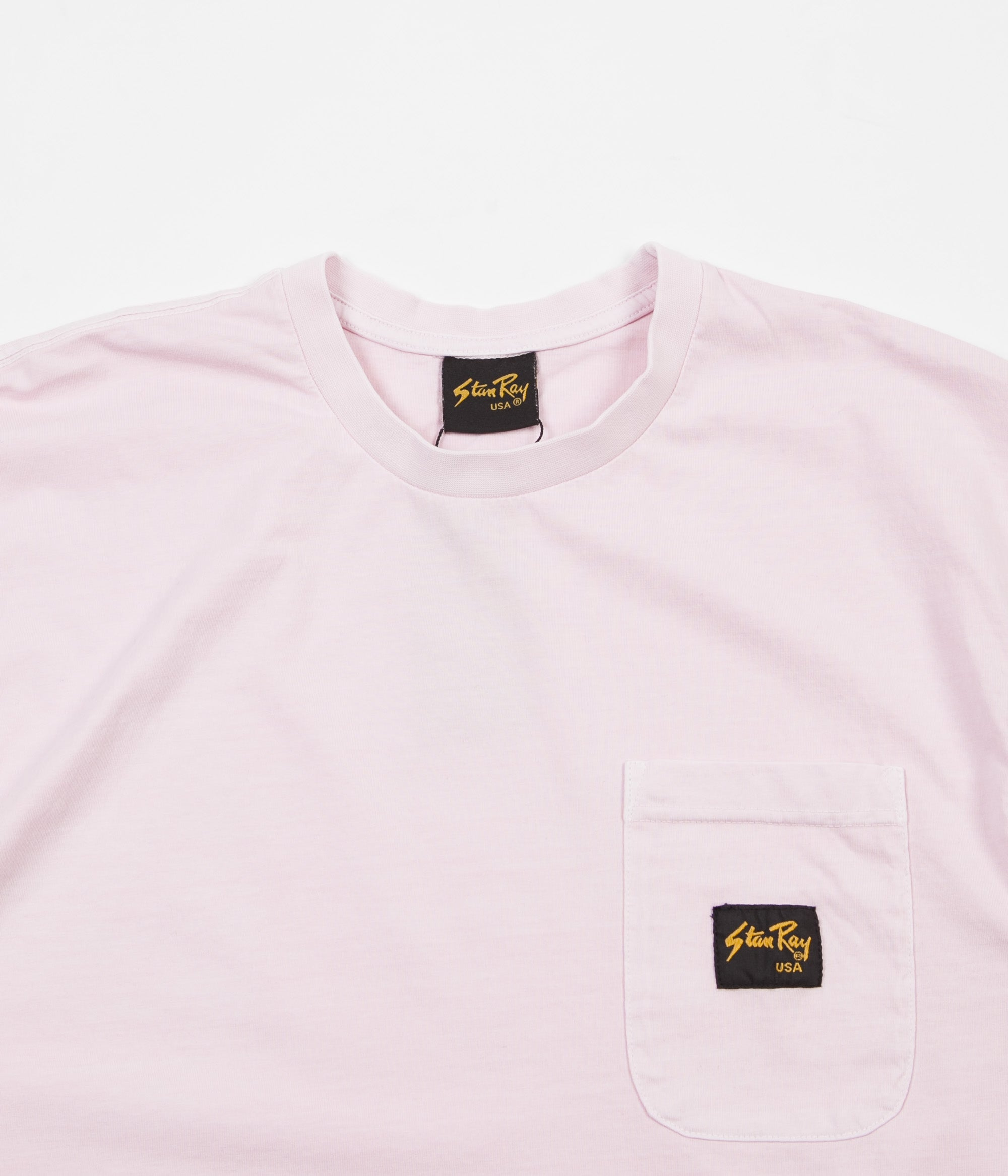 Stan Ray Stan Patch Pocket T-Shirt - Pink Rose