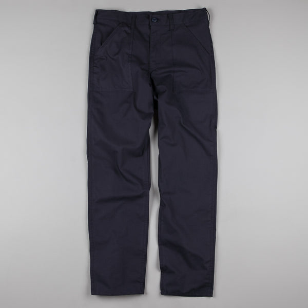 Stan Ray Taper 107 4 Pocket Fatigue Trousers - Navy Rip Stop