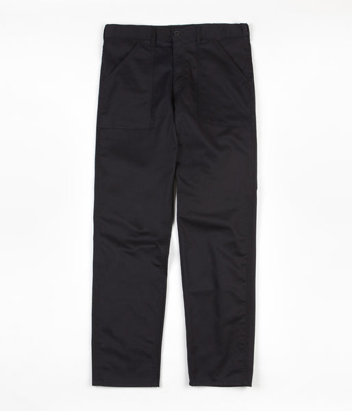 Stan Ray Taper Fit 4 Pocket Fatigue Trousers - Black Twill