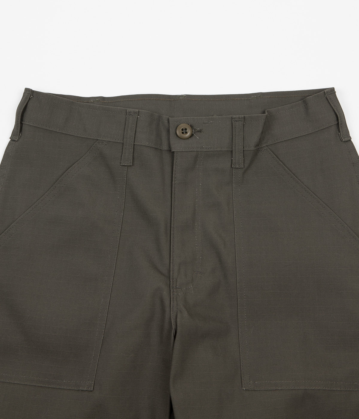 Stan Ray Taper Fit 4 Pocket Fatigue Trousers - Olive Rip Stop