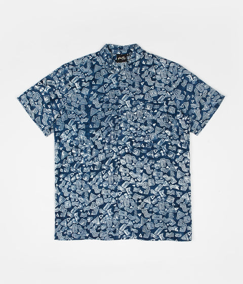 Stan Ray Tom Tom Batik Shirt - Indigo