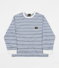Stan Ray Yarn Dye Stripe Narrow Long Sleeve T-Shirt - Clean Blue