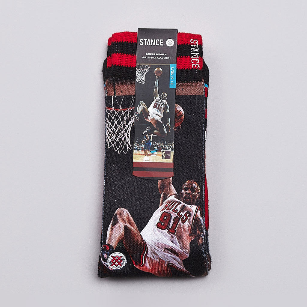 Stance NBA Legends Dennis Rodman Socks Bulls