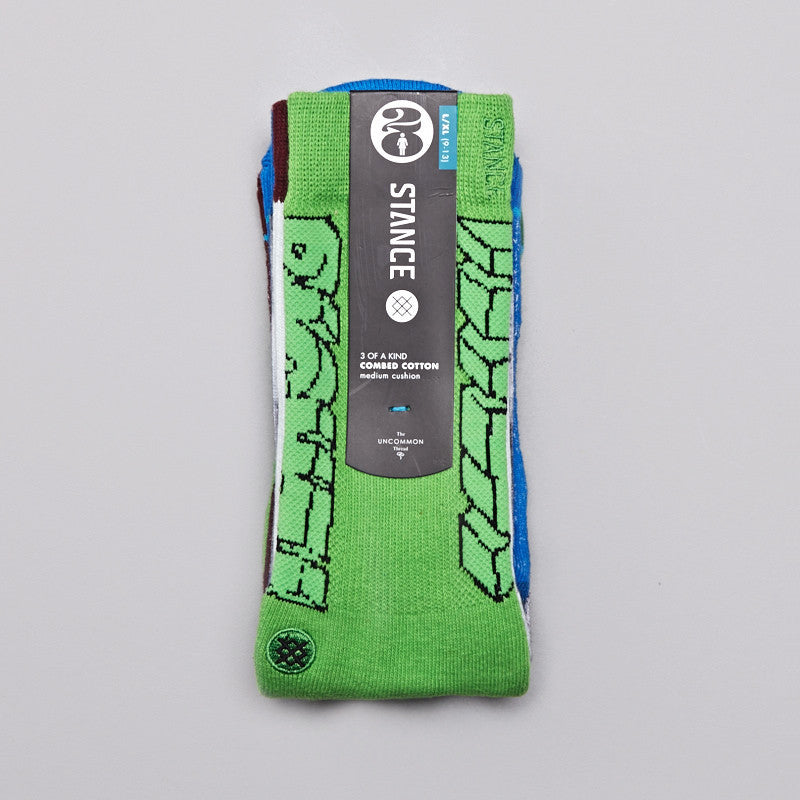 Stance Girl Skateboards 20th Anniversary Socks 3 Pack