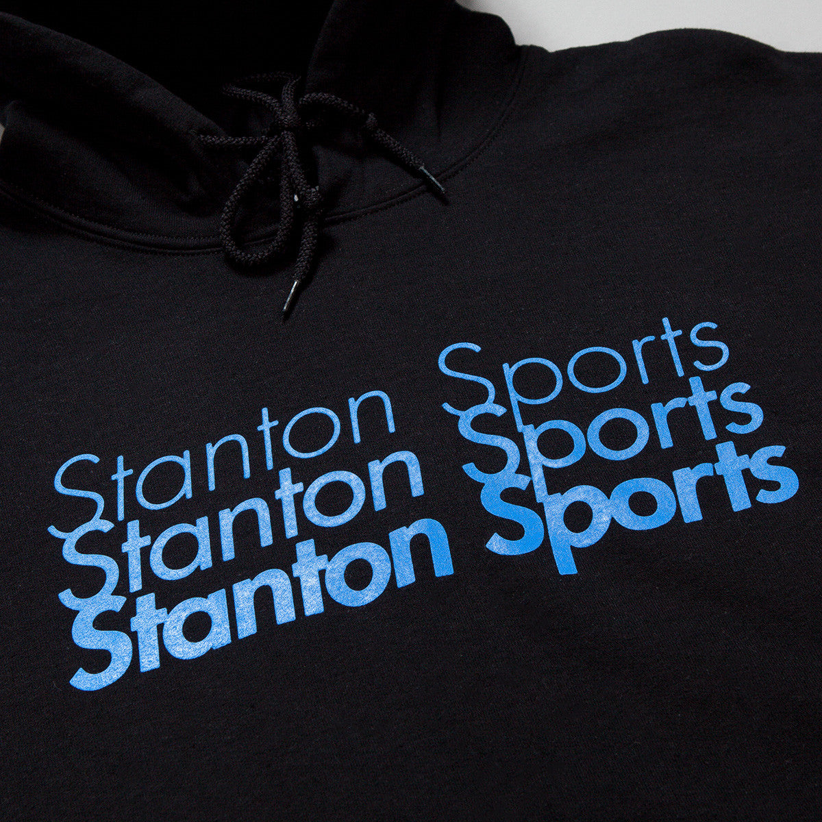 Stanton Street Sports Fade Hooded Sweatshirt - Black