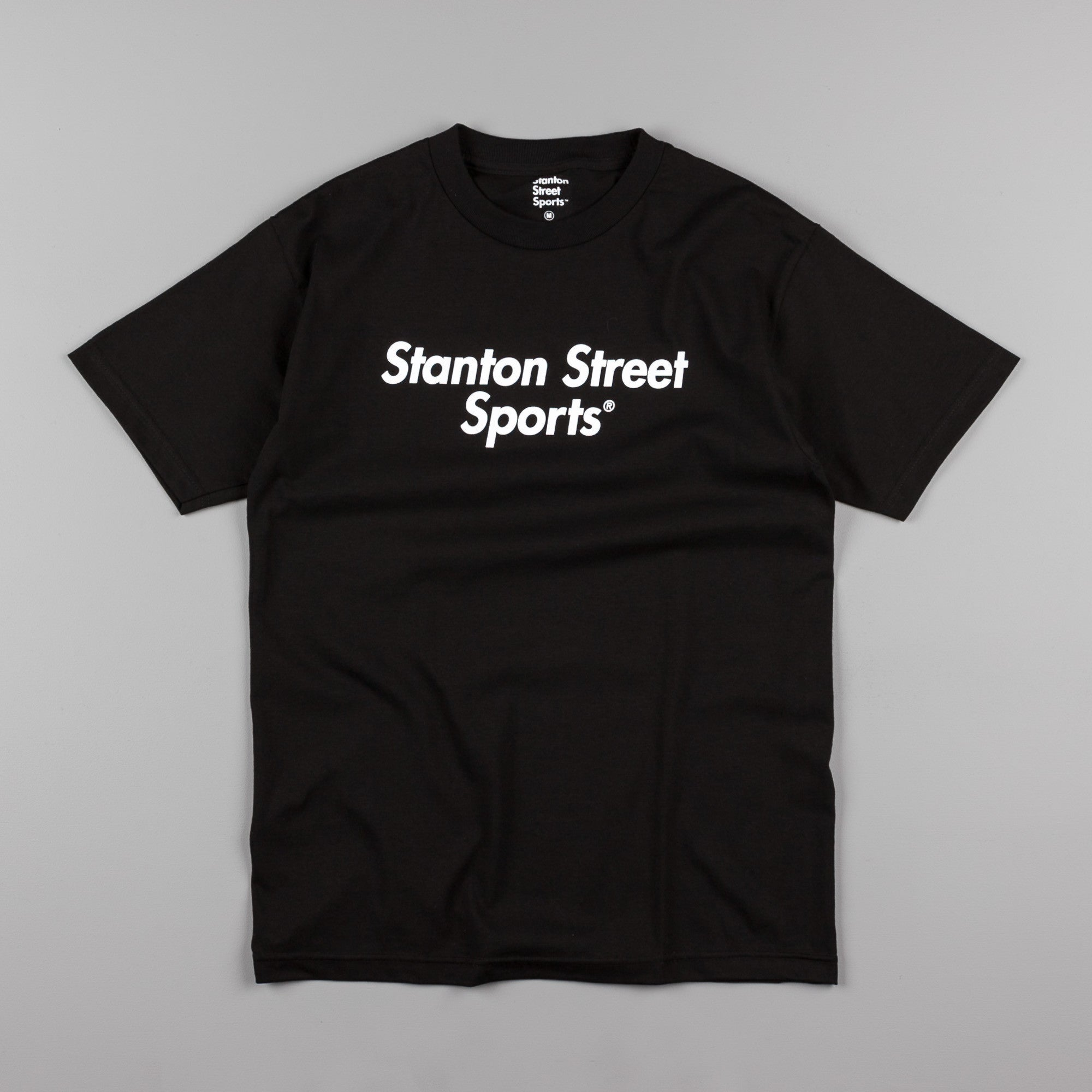 Stanton Street Sports Logo T-Shirt - Black