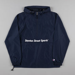 Stanton Street Sports Motion Anorak Jacket - Navy