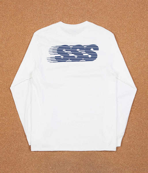 Stanton Street Sports Motion Long Sleeve T-Shirt - White