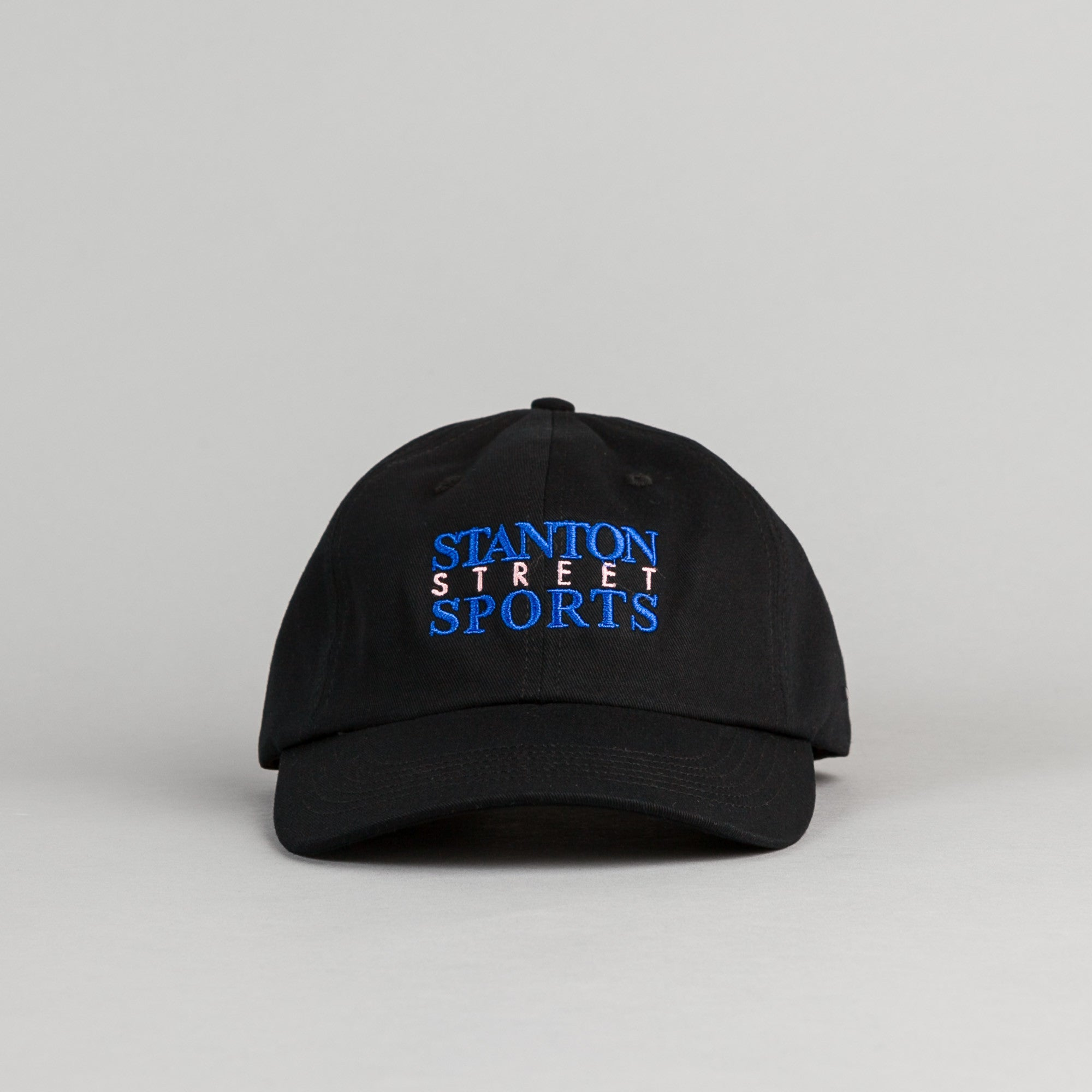 Stanton Street Sports News Cap - Black
