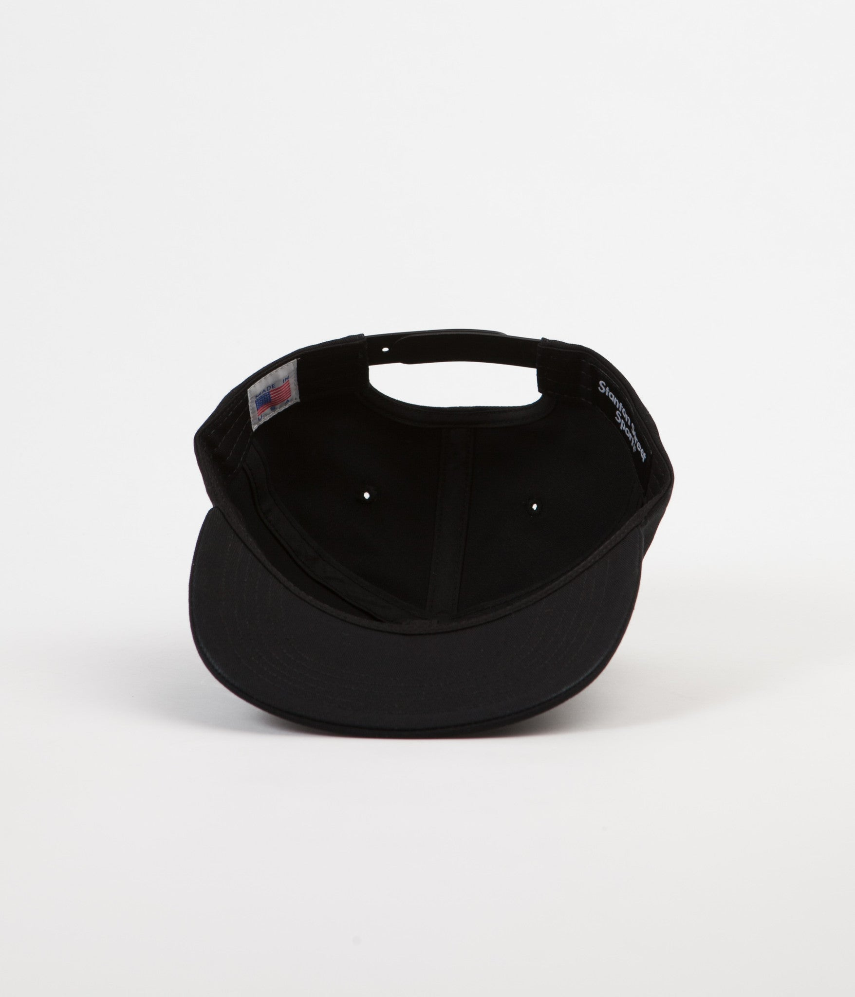 Stanton Street Sports Paint Snapback Cap - Black