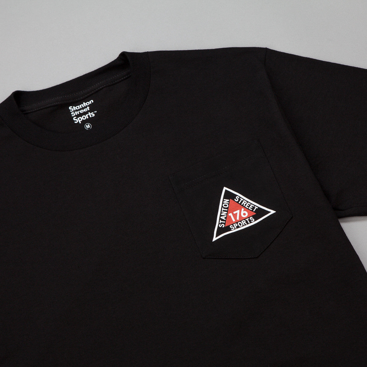 Stanton Street Sports Ridge Pocket T-Shirt - Black