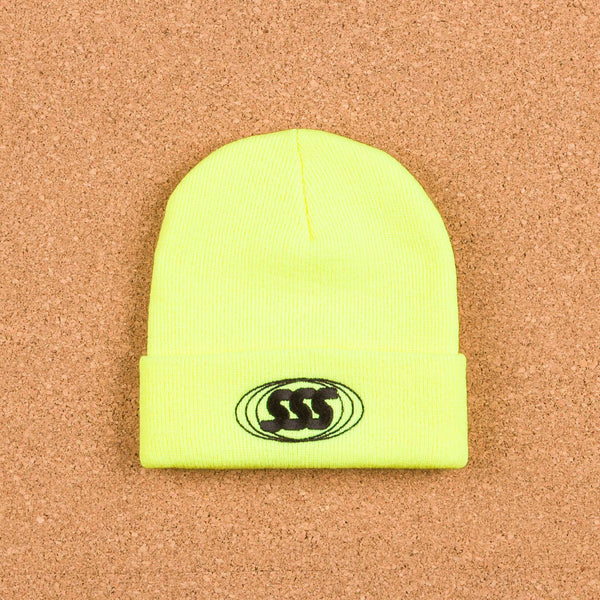 Stanton Street Sports Security Beanie - Safety Yellow
