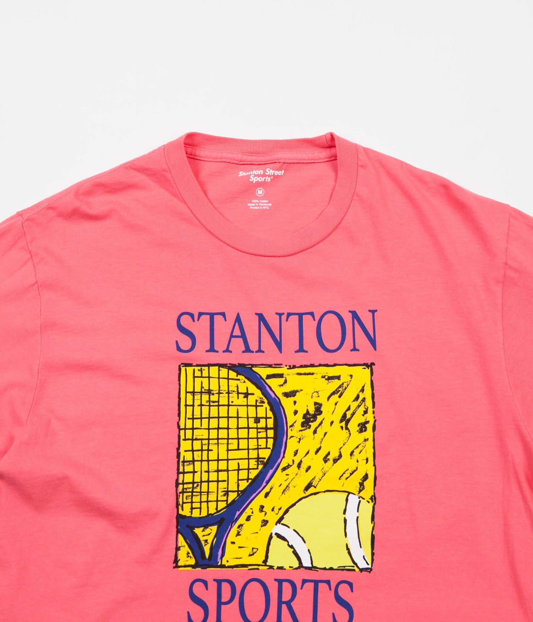 Stanton Street Sports Serve T-Shirt - Coral