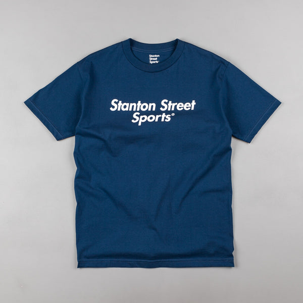 Stanton Street Sports Logo T-Shirt - Navy