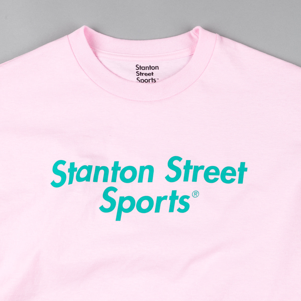 Stanton Street Sports T-Shirt - Light Pink