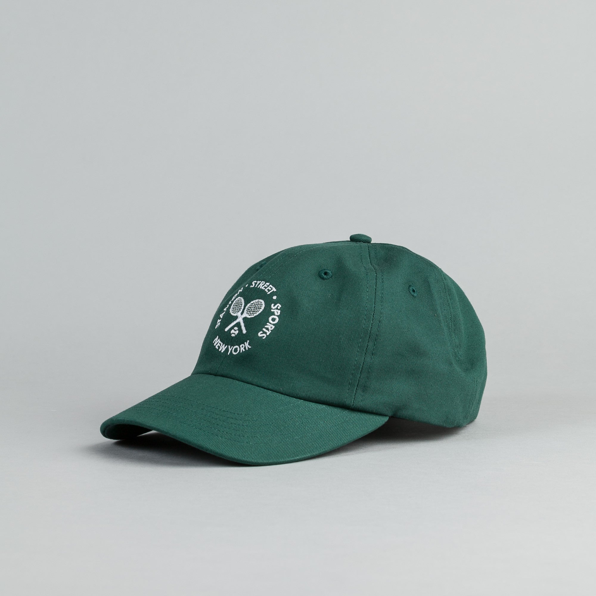 Stanton Street Sports Tennis Cap - Dark Green